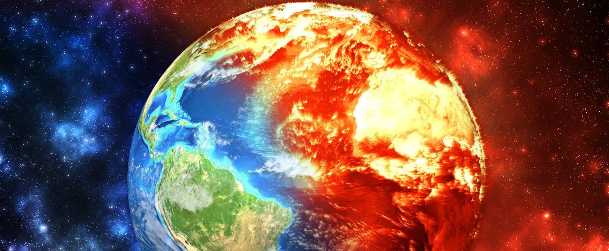 Il surriscaldamento globale : le cause naturali e le cause antropiche dell'aumento della temperatura del pianeta.